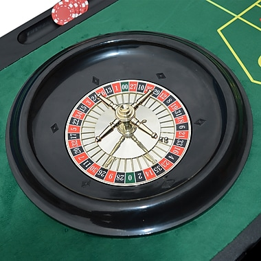 Hathaway Monte Carlo 4-in-1 Casino Game Table (BG1136M)