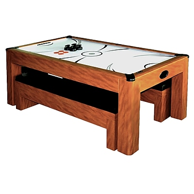 Hathaway Sherwood 7-ft Air Hockey Table w/Benches