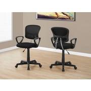 Monarch I 7260 Juvenile Office Chair Black Mesh