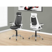Monarch I 7269 Office Chair White / Grey Mesh