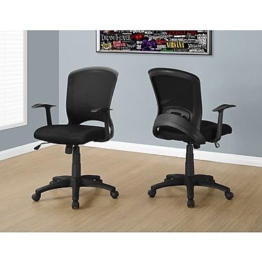 Monarch I 7265 Office Chair Black Mesh