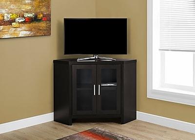 Monarch Corner TV Stand Cappuccino (I 2700)