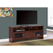 """Monarch 60""""  Long TV Stand Warm Cherry (I 2710)"""