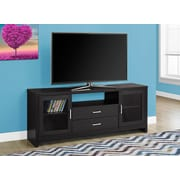 "Monarch 60"" Long TV Stand Cappuccino (I 2712)"