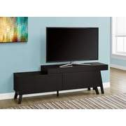 "Monarch 60"" Long TV Stand Cappuccino (I 2728)"