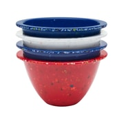 Confetti 4-piece Recycled Plastic Prep Bowl Set - Spirit