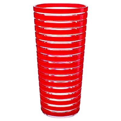 Stripe Juice Cup - Red 2464801