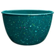 Confetti Recycled Plastic Pub Bowl - Peacock