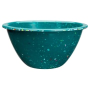 Confetti Recycled Plastic Cereal Bowl - Peacock