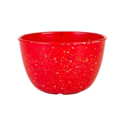 Confetti Recycled Plastic Pub Bowl - Red