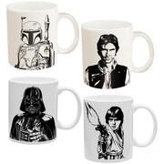 Star Wars Coffee Mugs - 4-piece Set