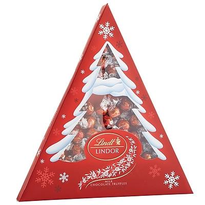 Lindor Milk Chocolate Holiday Tree Box, 17.8oz (C003250)