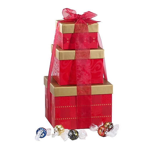 Lindor Holiday Stacking Tower (7832-M)