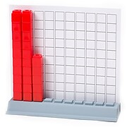 Didax Unifix® Cubes Hundred Base, Set of 24 (DD-211771)