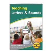 Junior Learning Teaching Letters & Sounds Teacher Manual, Grades K-5 (JRL260)
