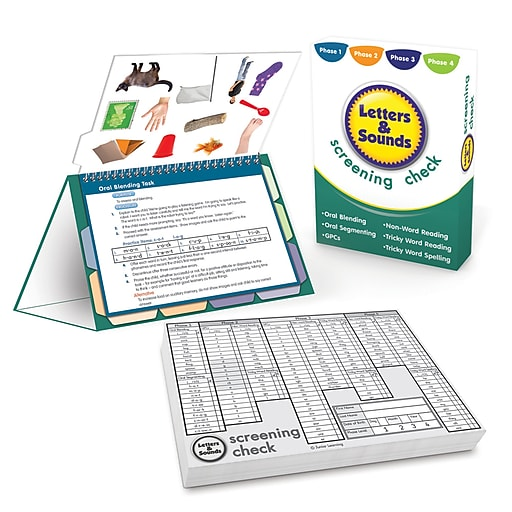 Junior Learning Letters & Sounds Screening Check (JRL261)