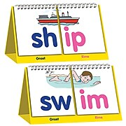 Junior Learning Word Building Flips, Double-sided Flip Stands, Pack of 3 (JRL459)