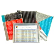 C-Line® Playful Pops™ Reusable Envelope, 3 Per Pack, 3 Packs (CLI54610)