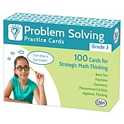 Problem Solving Practice Cards for Grade 3, Pack of 100 (DD-211279)