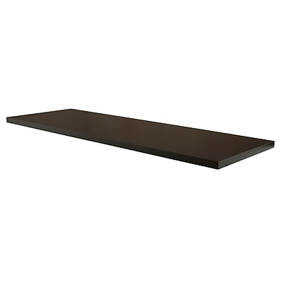 Econoco PSORSLF48-ML, Black Melamine Shelf for Outrigger, Black, 2/Pack