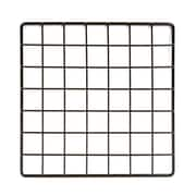 "Econoco GS10/B, 10""L x 10""W Epoxy Coated Grid Cubbies, 48/Pack"