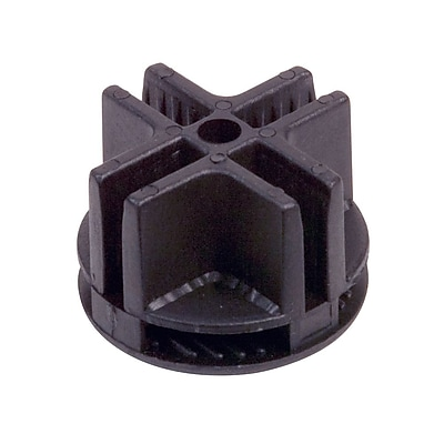 Econoco GSC/B, 4-Way Plastic Connector, 100/Pack