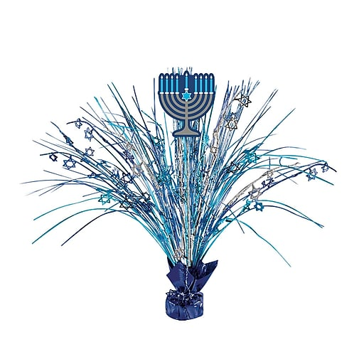 "Amscan Hanukkah Spray Centerpiece, 18"", 2/Pack (110302)"
