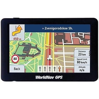 WorldNav 588060 - Système de localisation GPS WorldNav 5880 haute résolution de 5 po WorldNav 5880 pour camion
