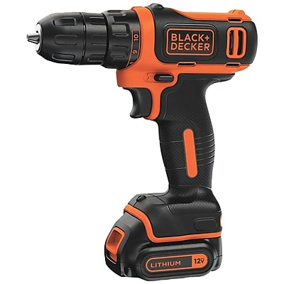 BLACK & DECKER BDCDD12C 12V MAX* Cordless Lithium Drill/Driver