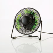 Brookstone Message Fan with Floating LED Display 939770