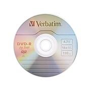 Verbatim Life Series 97176 16x DVD-R, Silver, 50/Pack