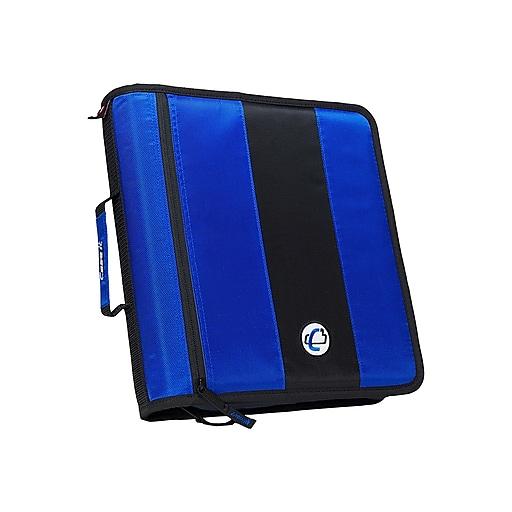 "Shop Staples For Case•it D-251 Blue 2"" Zipper Binder"