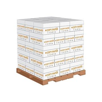 "8.5"" x 11"" Copy Paper, 20 lbs., 92 Brightness, 500 Sheets/Ream, 40 Cases/Pallet (324791-LQO)"
