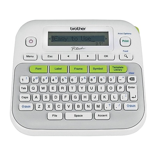 Shop Staples For Brother P-Touch PT-D210 Label Maker