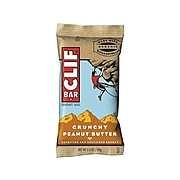 Clif Bar Energy Bars Crunchy Peanut Butter, 2.4 oz., 12/Box (CCC50120)