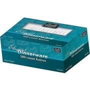 Berkley Square Elegant Dinnerware Polystyrene Knives, Heavy-Weight, White, 500/Box (1071010)