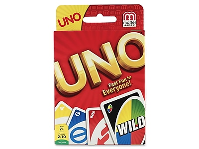 Mattel UNO Card Game, 7+ Years