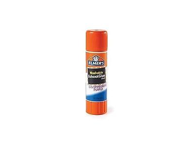 Elmer's School Glue Sticks, 0.24 oz., 30/Pack (E555)