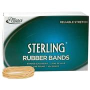 Alliance Sterling Multi-Purpose Rubber Bands, #19, 1 lb. Box, 1700/Box (24195)