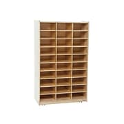 """Wood Designs 49""""H x 30""""W Plywood Mailbox, Natural, Each (WD33300)"""
