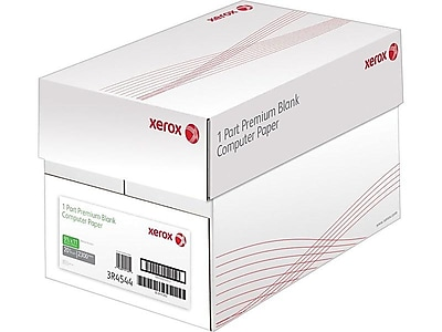 "Xerox 9.5"" x 11"" Multipurpose Paper, 20 lbs., 92 Brightness, 2300/Carton (3R04544)"