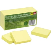 "Redi-Tag Standard Notes, 1 1/2"" x 2"" Yellow, 100 Sheets/Pad, 12 Pads/Pack (25700)"