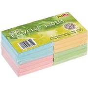 """Redi-Tag Standard Notes, 3"""" x 3"""" Assorted Colors, 100 Sheets/Pad, 12 Pads/Pack (26704)"""