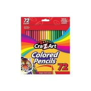 Cra-Z-Art Colored Pencils, Assorted, 72/Box (r10402)