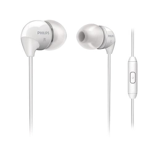 Philips Headphones, White (SHE3595WT/00)