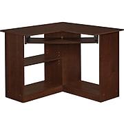 "Easy 2 Go 36"" Corner Desk, Brown (951572-CC)"
