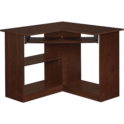 Easy2go Corner Computer Desk Resort Cherry