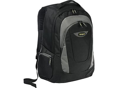 Targus Trek Laptop Backpack, Black/Gray (TSB193US)
