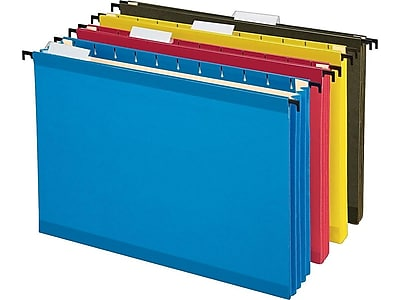 Pendaflex SureHook Hanging File Folders, 3-1/2