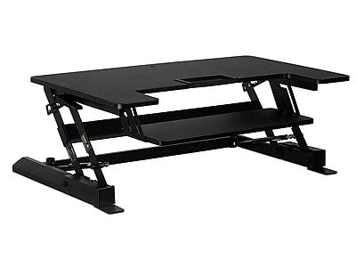 "Mount-It! 36""W Standing Desk Converter, Plastic/Steel (MI-7926)"